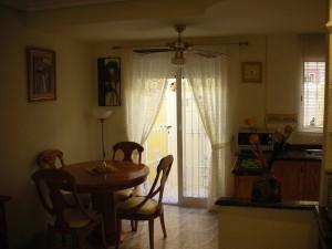 Matplats (köket nu omålat)